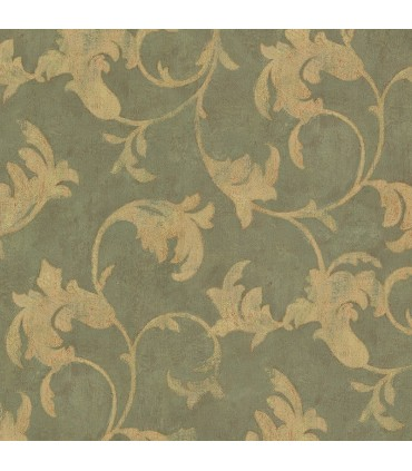 TE29308 - Leaf Scroll-Norwall Special