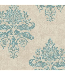 G34155 - Vintage Damasks Wallpaper by Norwall