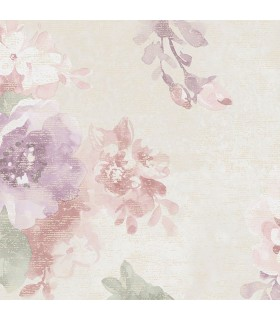 G34101 - Vintage Damasks Wallpaper by Norwall