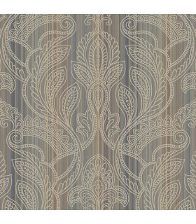 G34145 - Vintage Damasks Wallpaper by Norwall