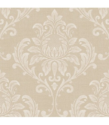 G34128 - Vintage Damasks Wallpaper by Norwall