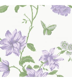 G34303 - Purple Floral Norwall Special