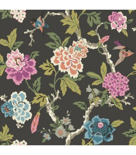 GP5900 - Floral with Birds - Waverly Garden Party