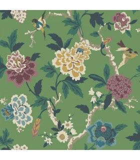GP5906 - Floral with Birds - Waverly Garden Party