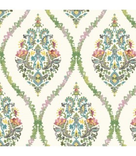 GP5925 - Floral Damask - Waverly Garden Party