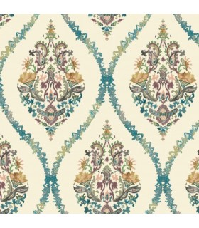 GP5928 - Floral Damask - Waverly Garden Party