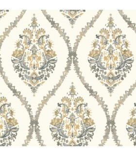 GP5929 - Floral Damask - Waverly Garden Party