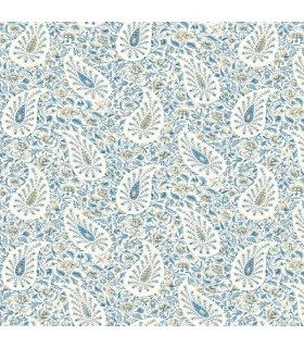 GP5952 - Waverly Garden Party Wallpaper by York - Paisley