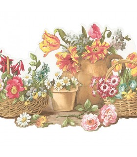 FK78464DC - Fresh Kitchens 5 - Floral Border