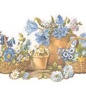 FK78465DC - Fresh Kitchens 5 - Floral Border
