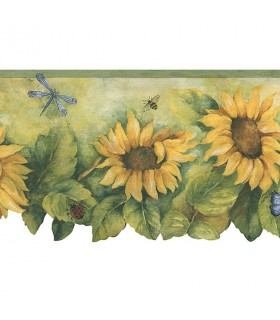 BG71361DC - Fresh Kitchens 5 -Sunflower Border