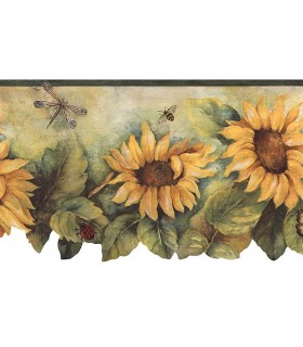 BG71362DC - Fresh Kitchens 5 -Sunflower Border
