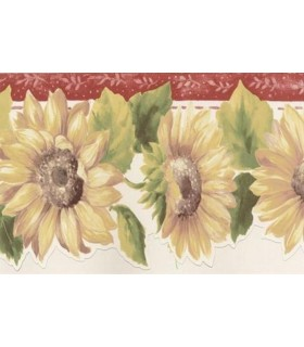 KC78356DC - Fresh Kitchens 5 -Sunflower Border