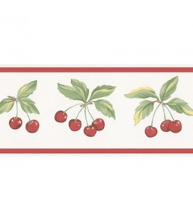 FK78462 - Fresh Kitchens 5 -Cherries Border