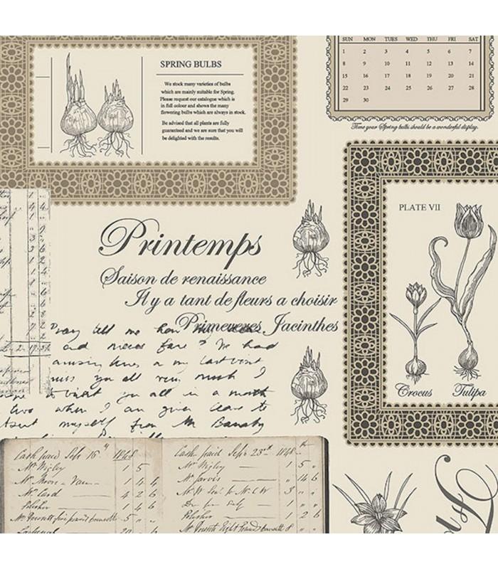 FK34419 - Fresh Kitchens 5 -Spring Flower Bulbs - Script