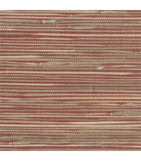 NZ0785 - Grasscloth by York - River Grass - Red