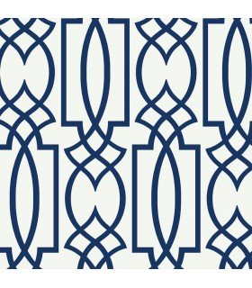 CM2383 - Cobalt Blues Wallpaper by York