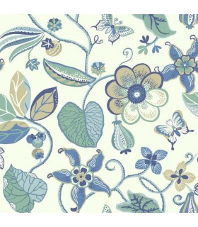 EB2003 - Cobalt Blues Wallpaper by York