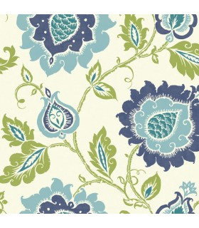 EB2033 - Cobalt Blues Wallpaper by York