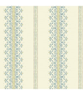 MS6412 - Cobalt Blues Wallpaper by York