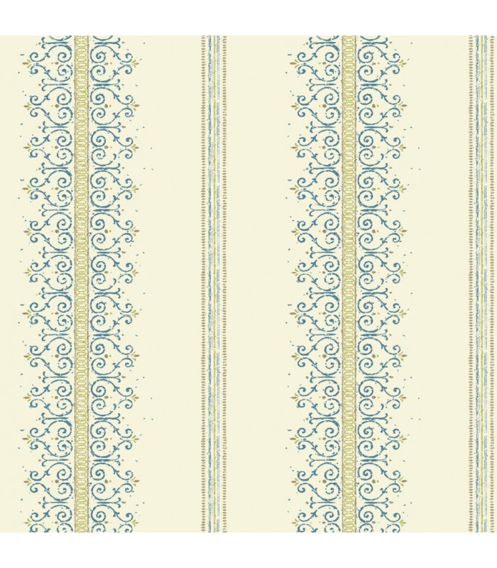MS6412 - Cobalt Blues Wallpaper by York