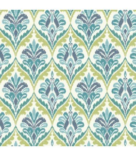 MS6425 - Cobalt Blues Wallpaper by York