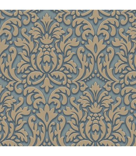 TD4700 - Cobalt Blues Wallpaper by York
