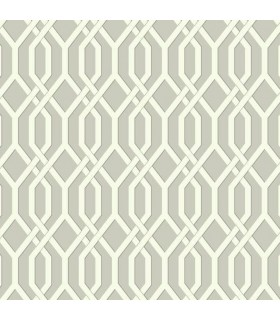 GE3682 - Ashford Whites Wallpaper-Garden Pergola