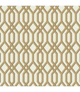 SW7501 - Ashford Whites Wallpaper-Garden Pergola