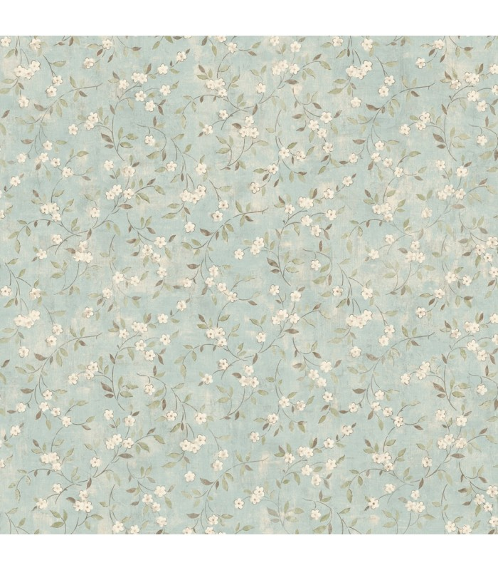 LG1306 - Rustic Living by York - Floral Sprig Wallpaper