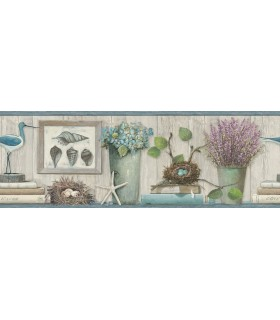 LG1325BD - Rustic Living by York-Coastal Treasures Border