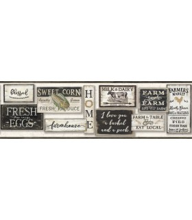 LG1360BD - Rustic Living by York - Farm to Table Border