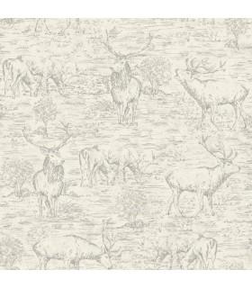LG1446 - Rustic Living by York - Stag-Deer Toile
