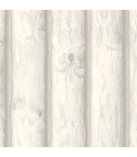 LG1455 - Rustic Living by York - Mountain Logs Wallpaper