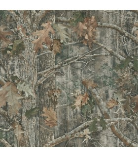 LG1465 - Rustic Living by York - Camo Wallpaper
