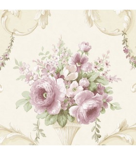 IM36422 - Silk Impressions 2 by Norwall Floral Wallpaper
