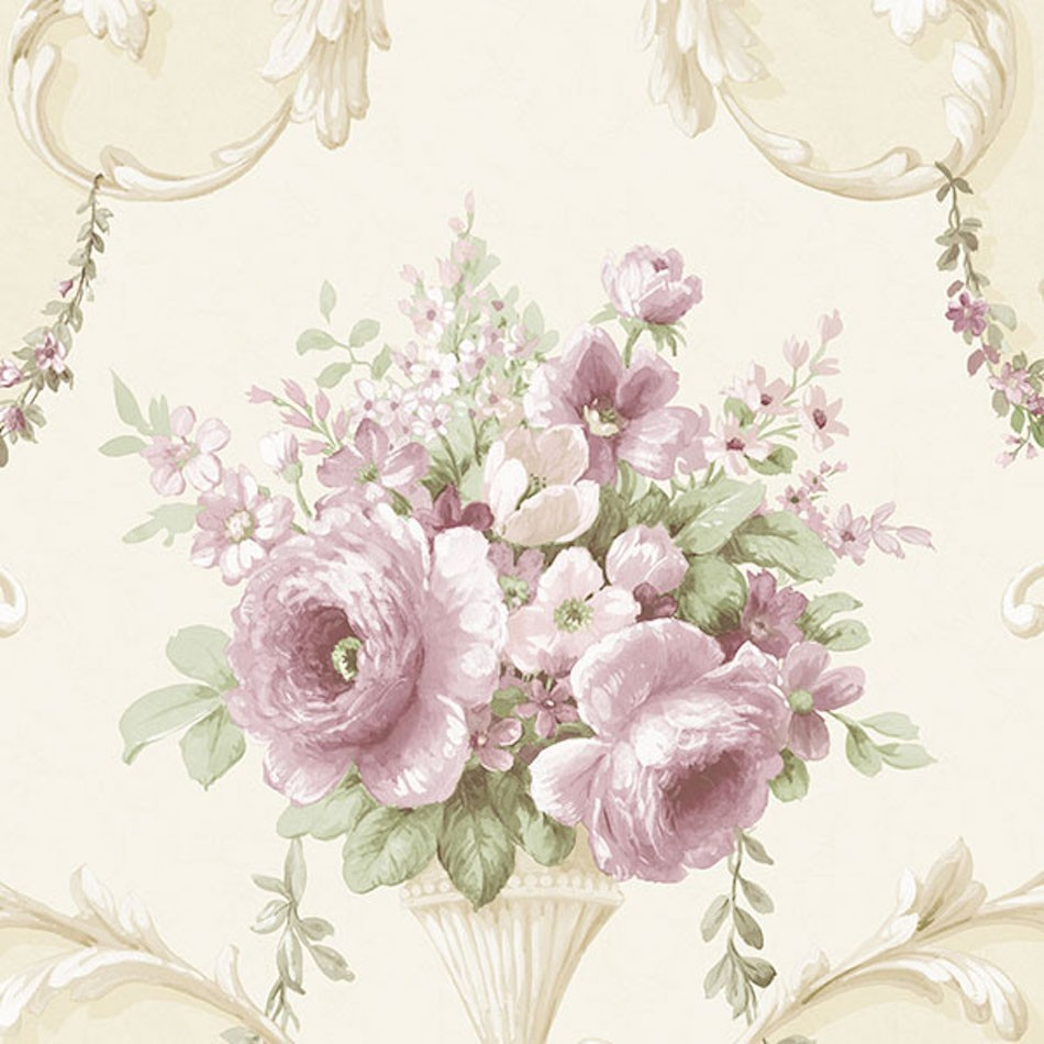 Im36422 Silk Impressions 2 By Norwall Floral Wallpaper Wallpaper The Home