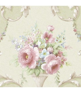 IM36421 - Silk Impressions 2 by Norwall Floral Wallpaper