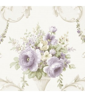 IM36423 - Silk Impressions 2 by Norwall Floral Wallpaper