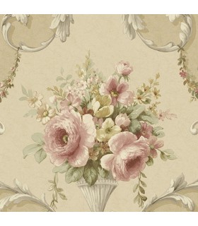 IM36424 - Silk Impressions 2 by Norwall Floral Wallpaper
