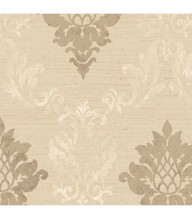 IM36428 - Silk Impressions 2 by Norwall Damask Wallpaper