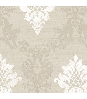 IM36425 - Silk Impressions 2 by Norwall Damask Wallpaper