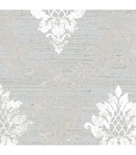 IM36426 - Silk Impressions 2 by Norwall Damask Wallpaper