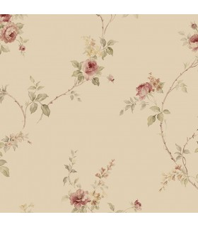 IM36400 - Silk Impressions 2 by Norwall Floral Wallpaper