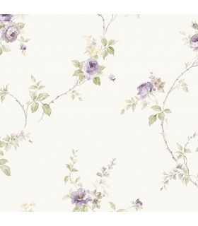 IM36401 - Silk Impressions 2 by Norwall Floral Wallpaper