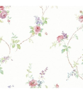 MD29402 - Silk Impressions 2 by Norwall Floral Wallpaper