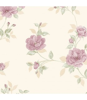 IM36404 - Silk Impressions 2 by Norwall Floral Wallpaper