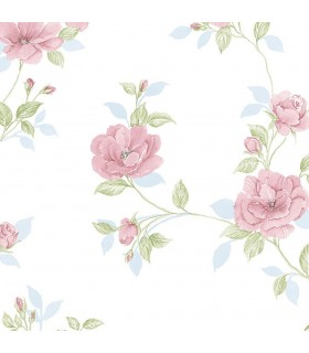 IM36403 - Silk Impressions 2 by Norwall Floral Wallpaper