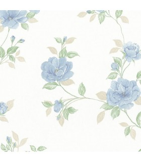 MD29436 - Silk Impressions 2 by Norwall Floral Wallpaper