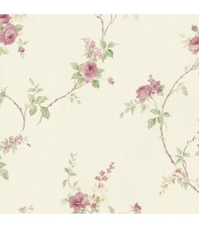 MD29401 - Silk Impressions 2 by Norwall Floral Wallpaper